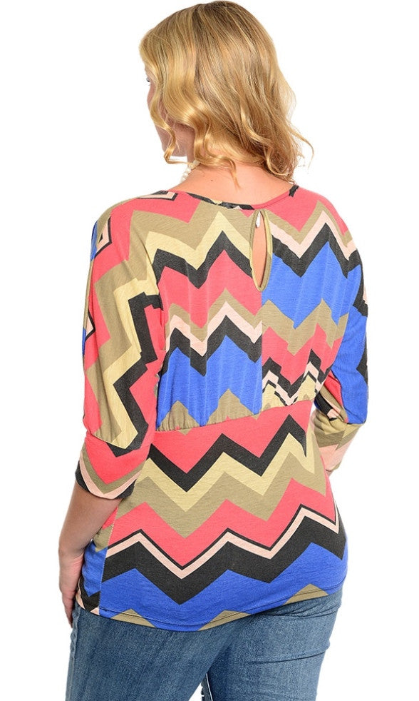 Dolman Sleeve Multi Shirt
