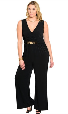 Sleeveless Black Romper