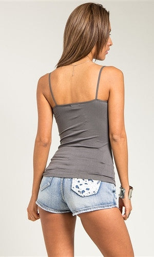 charcoal camisole