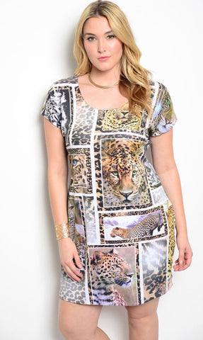 Jungle Printed Dress