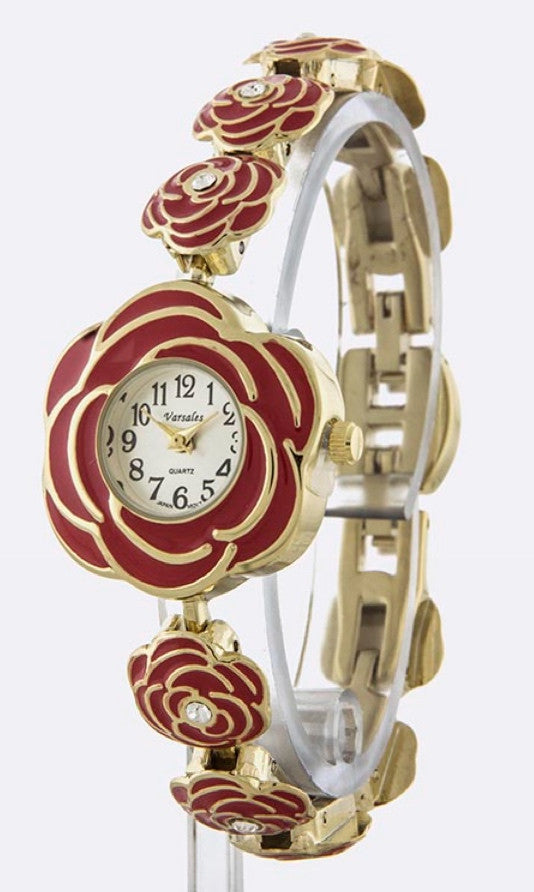 ladies rose watch