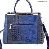 croc styled tote bag