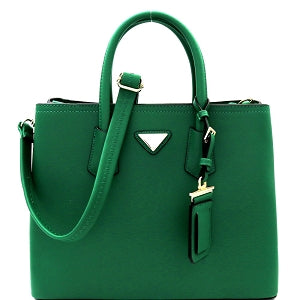 Green satchel