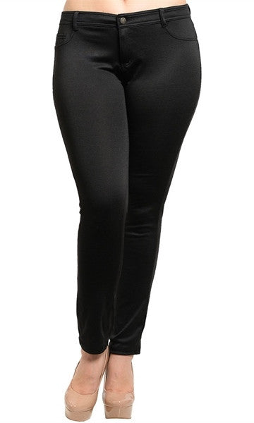 Black Skinny Pants -FINAL SALE