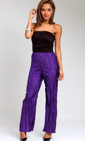 Black and purple jumpsuit