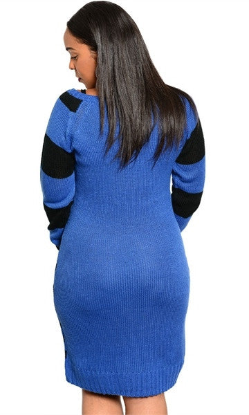 Curve loving sweater dress