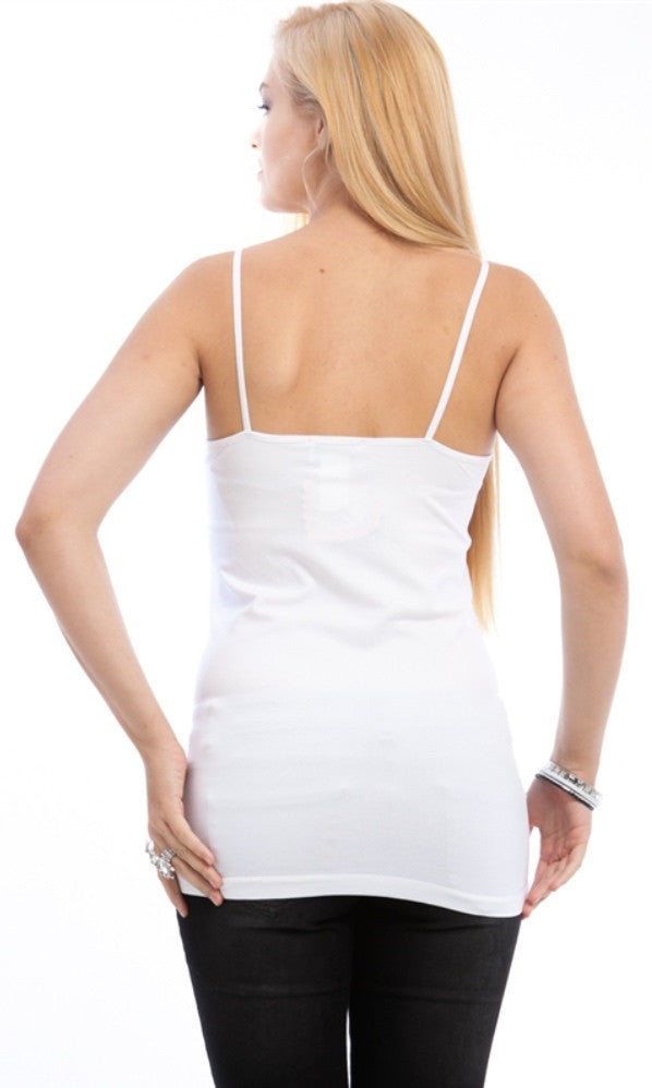 Plus Size white camisole