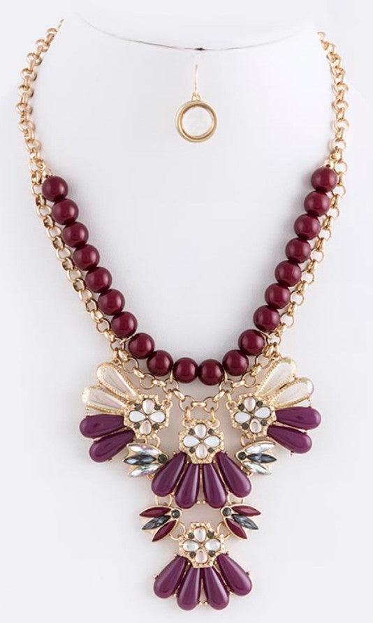 Chunky Fashion Necklace