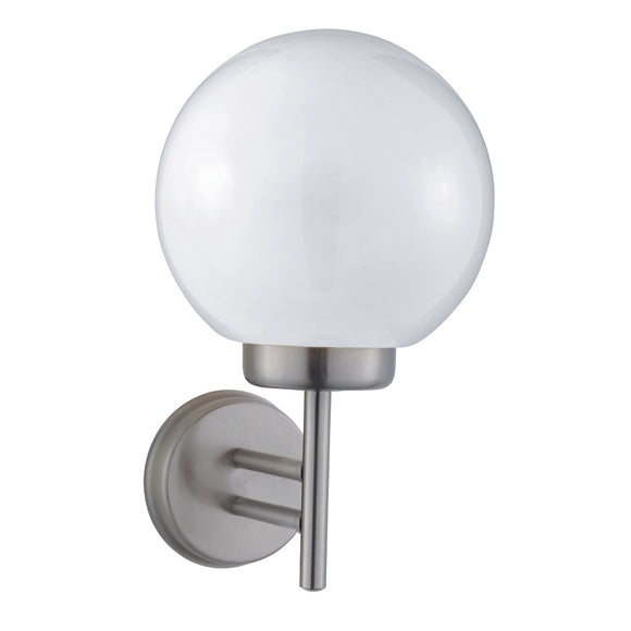 Searchlight 075 Globe Stainless Steel Outdoor Wall Light