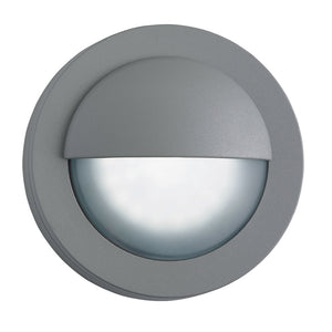 Searchlight 1402GY Grey LED Outdoor Wall Light