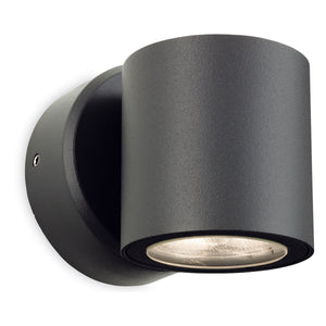 Firstlight 2335GP Alaska LED 1 Light Graphite Wall Light
