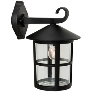 Firstlight 2356BK Stratford 1 Light Black Wall Light