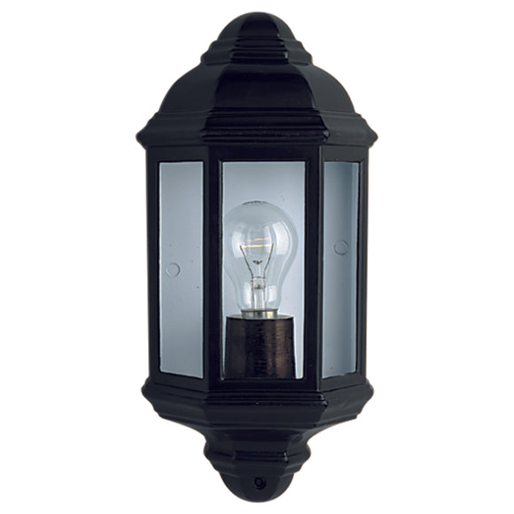 Searchlight 280BK Black Outdoor Wall Light