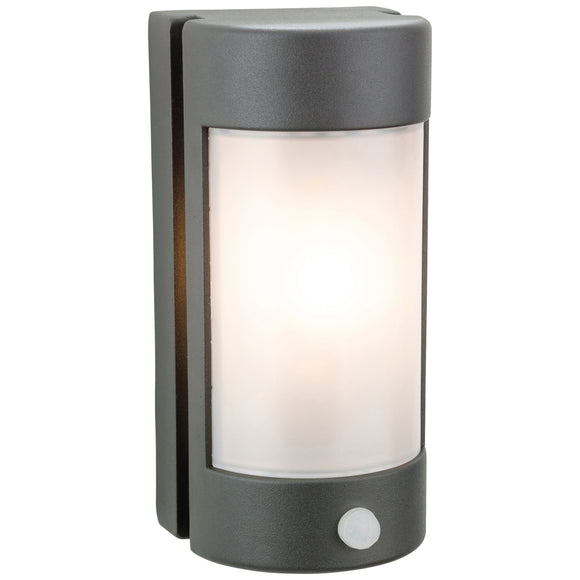 Firstlight 3427GP Arena 1 Light Graphite Wall Light With PIR