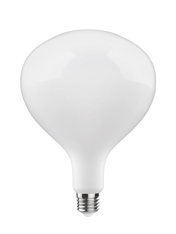 Luxram 4300333 Classic Style LED Type N2 E27 Dimmable 220-240V 4W 2700K, 320lm, Opal Finish, 3yrs Warranty