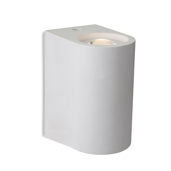 Firstlight 4901 Carlos 2 Light Plaster LED Wall Light