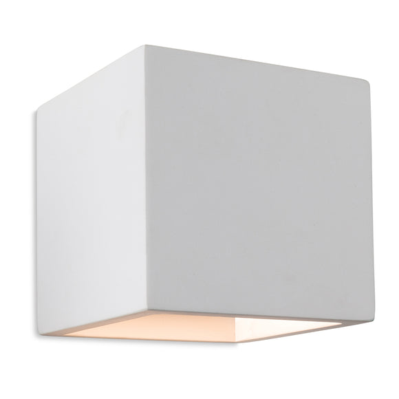 Firstlight 4902 Troy 1 Light Plaster Wall Light