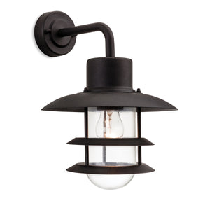 Firstlight 4908BK Austin 1 Light Black Wall Light