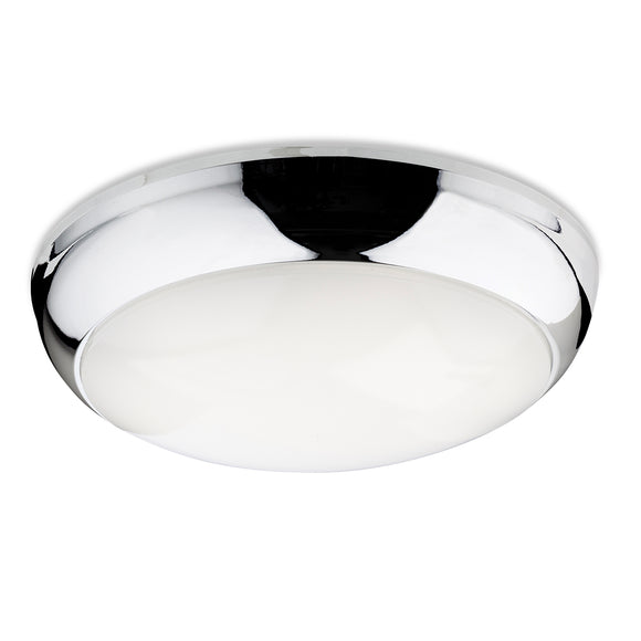 Firstlight 4912CH Regis LED Polished Chrome Ceiling Light