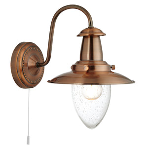 Searchlight 5331-1CU Fisherman 1 Light Copper Wall Light