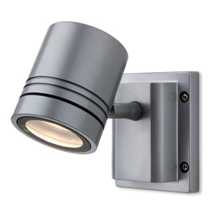 Firstlight 5501AL Aero 1 Light Aluminium Wall Light