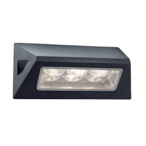 Searchlight 5513BK Black LED Wall Light