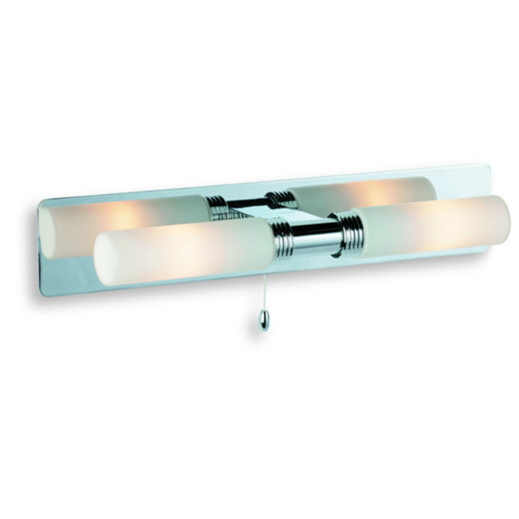 Firstlight 5754CH Spa 2 Light Polished Chrome Wall Light (Switched)