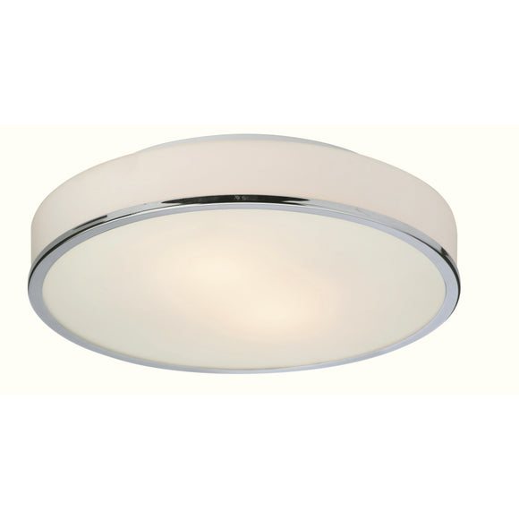 Firstlight 5756CH Profile 2 Light Polished Chrome Ceiling Light