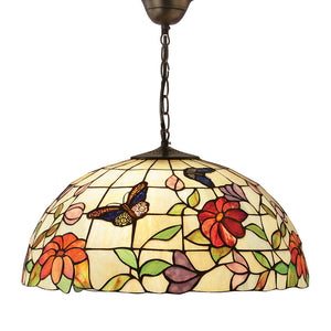 Interiors 1900 63995 Butterfly Large 3 Light Pendant