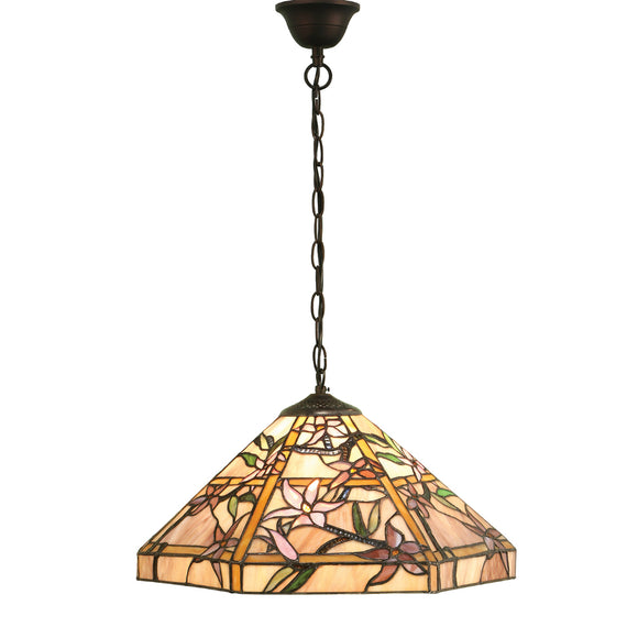 Interiors 1900 64020 Clematis Medium 1 Light Pendant
