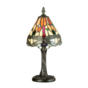 Interiors 1900 64100 Dragonfly Flame Mini Table Lamp