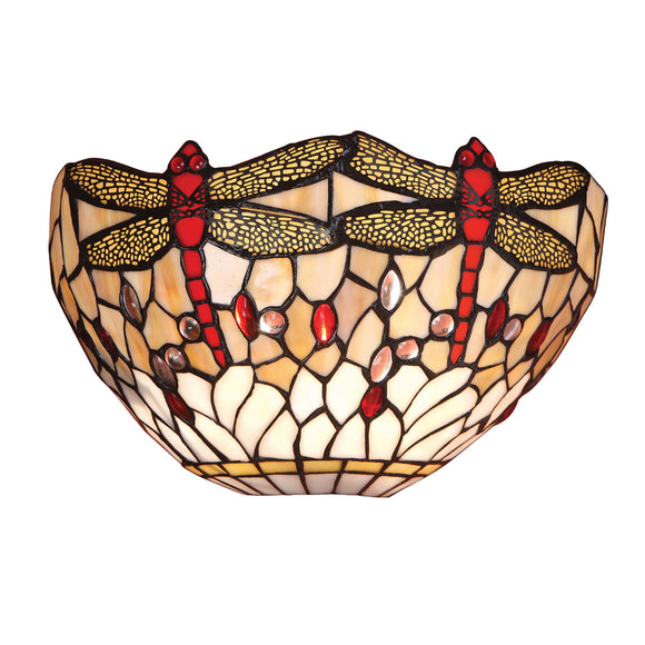 Interiors 1900 64101 Dragonfly Beige Wall Light