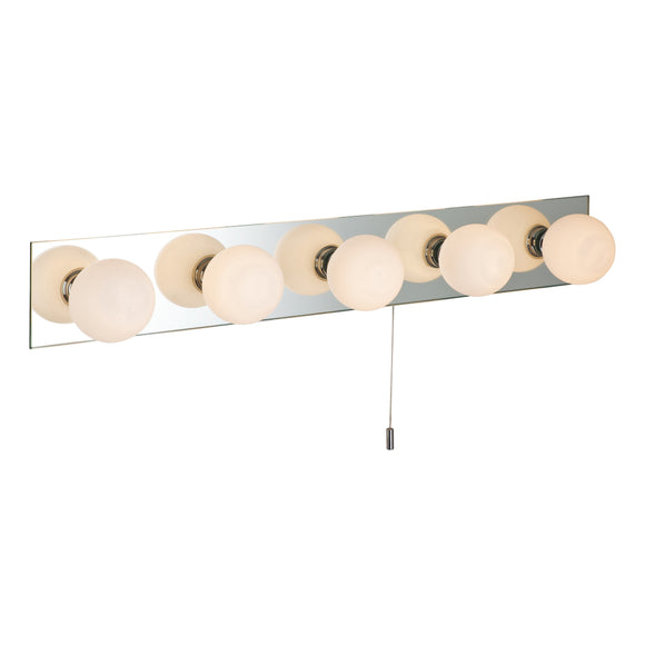 Firstlight 6410 Showtime 5 Light Mirror Glass Wall Light (Switched)
