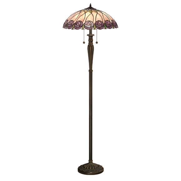 Interiors 1900 64172 Hutchinson 2 Light Floor Lamp