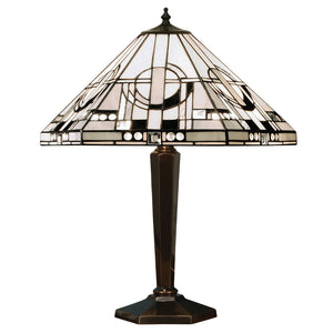 Interiors 1900 64263 Metropolitan Medium Table Lamp With Cast Brass Base