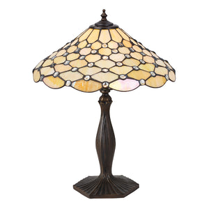 Interiors 1900 64301 Pearl Medium Table Lamp