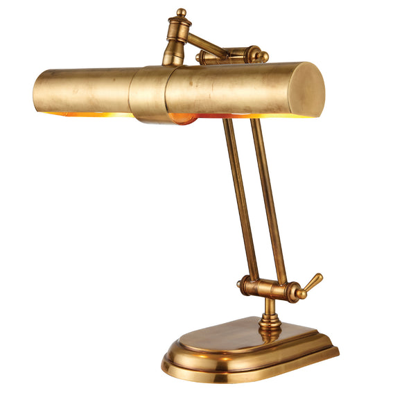 Interiors 1900 69834 Winchester Solid Brass Table Lamp