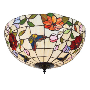 Interiors 1900 70715 Butterfly Large 2 Light Flush