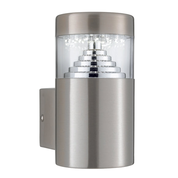 Searchlight 7508 Stainless Steel LED Outdoor Wall Light