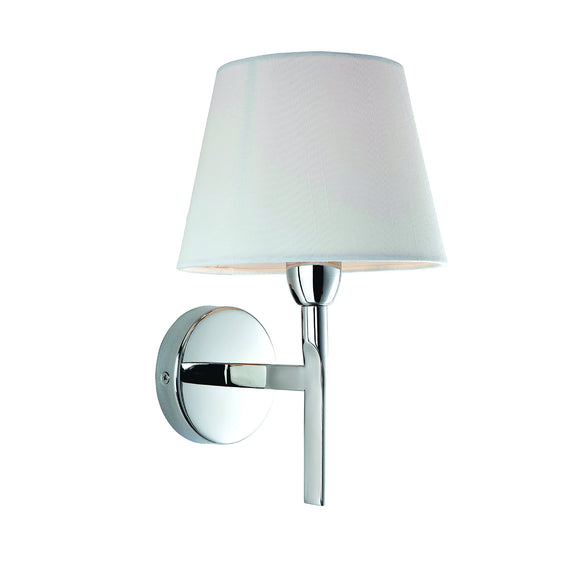 Firstlight 8217PST Transition 1 Light Polished Stainless Steel Wall Light