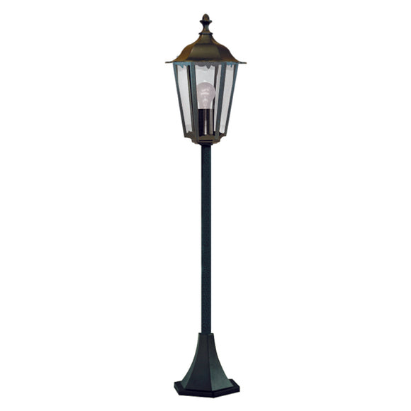 Searchlight 82504BK Alex Outdoor Post Light