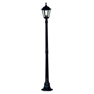 Searchlight 82508BK Alex Outdoor Post Light