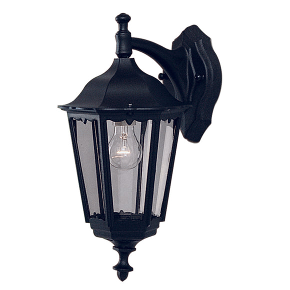 Searchlight 82531BK Bel Aire Outdoor Wall Light