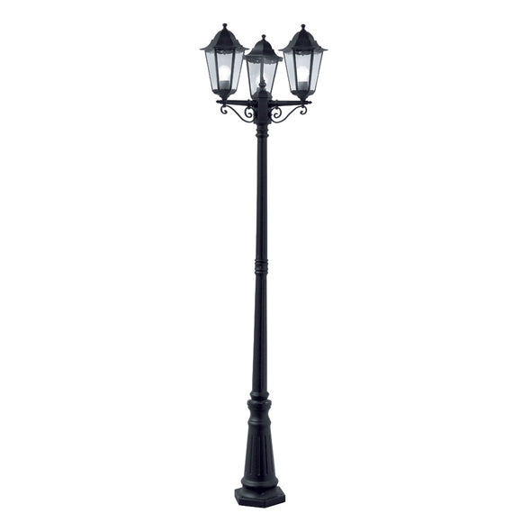 Searchlight 82540BK Alex Outdoor Post Light