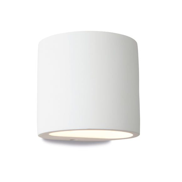 Firstlight 8321 Nina 1 Light Plaster Wall Light
