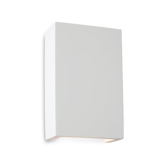 Firstlight 8324 Gallery 2 Light Plaster LED Wall Light