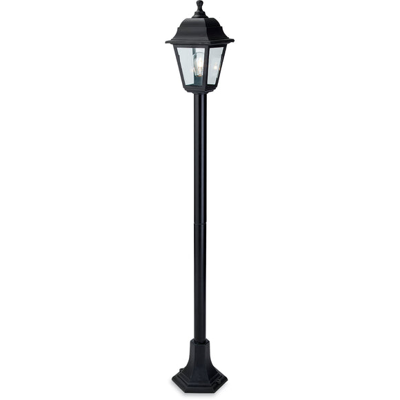 Firstlight 8348BK Oslo 1 Light Black Post Light