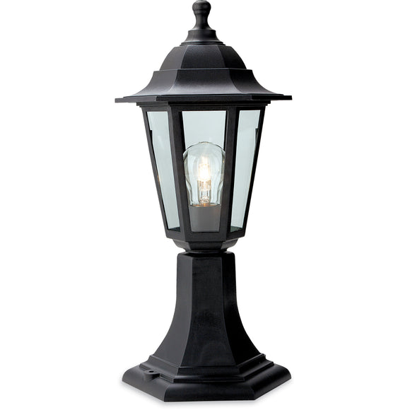 Firstlight 8350BK Malmo 1 Light Black Post Light