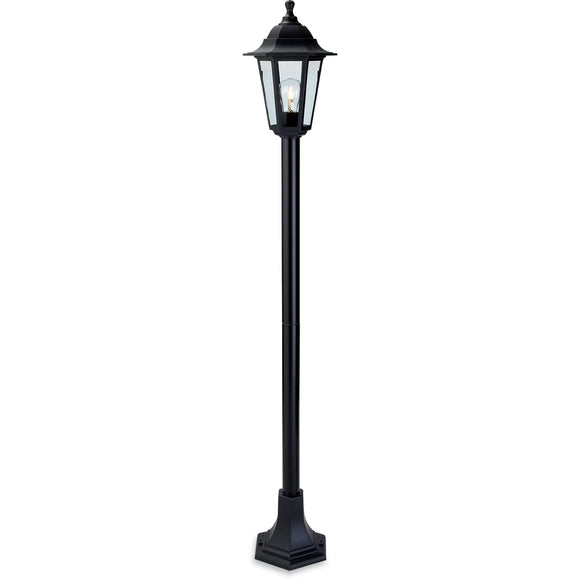 Firstlight 8351BK Malmo 1 Light Black Post Light