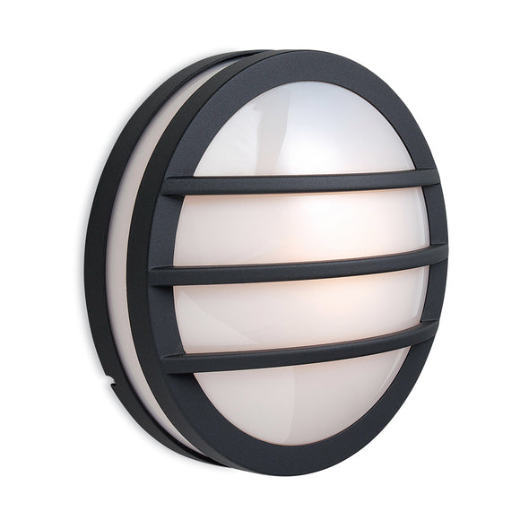 Firstlight 8355GP Zenith 1 Light Graphite Wall-Ceiling Light